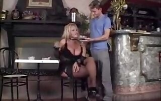 Teen guy LOVES drilling mature blonde ts