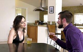 Crazy hermaphrodite dude enjoys having sex with shemale Korra Del Rio